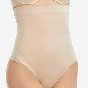 Spanx, Suit Your Fancy High-Waisted Thong, S